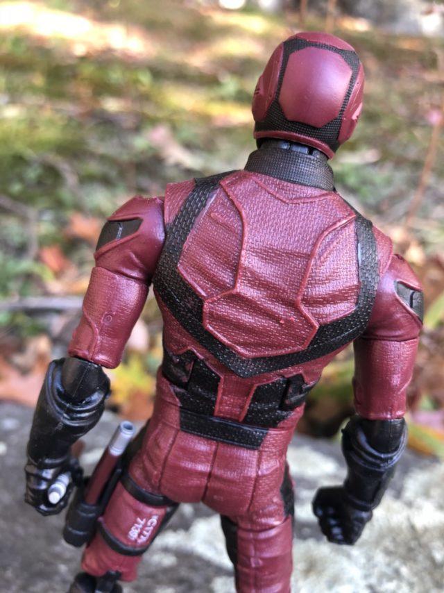 "Hasbro Netflix Daredevil 6"" Figure Back Close-Up"