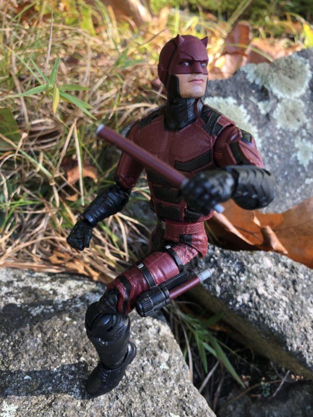 Hasbro Netflix Daredevil 6 Inch Figure Crouching
