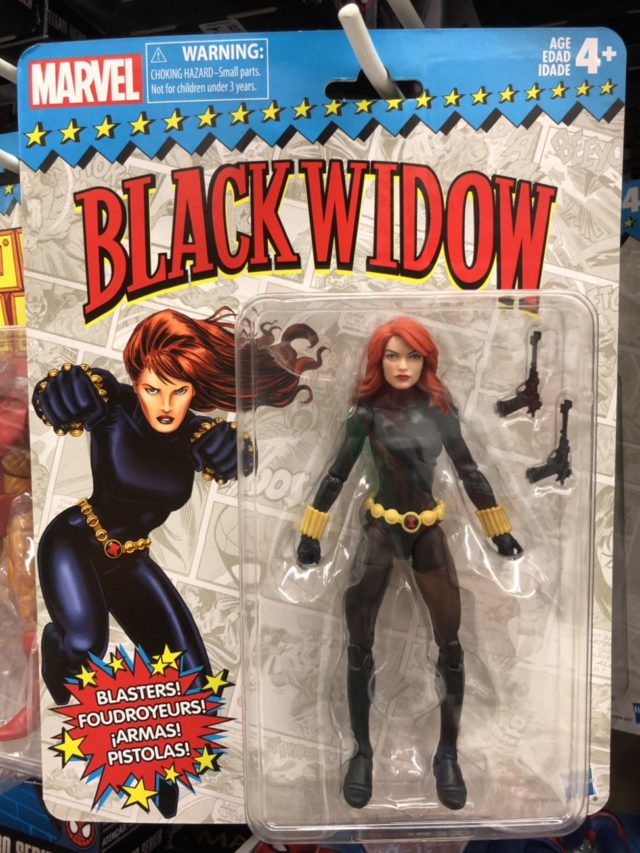 Marvel Legends Black Widow Classic Figure Toybiz Series