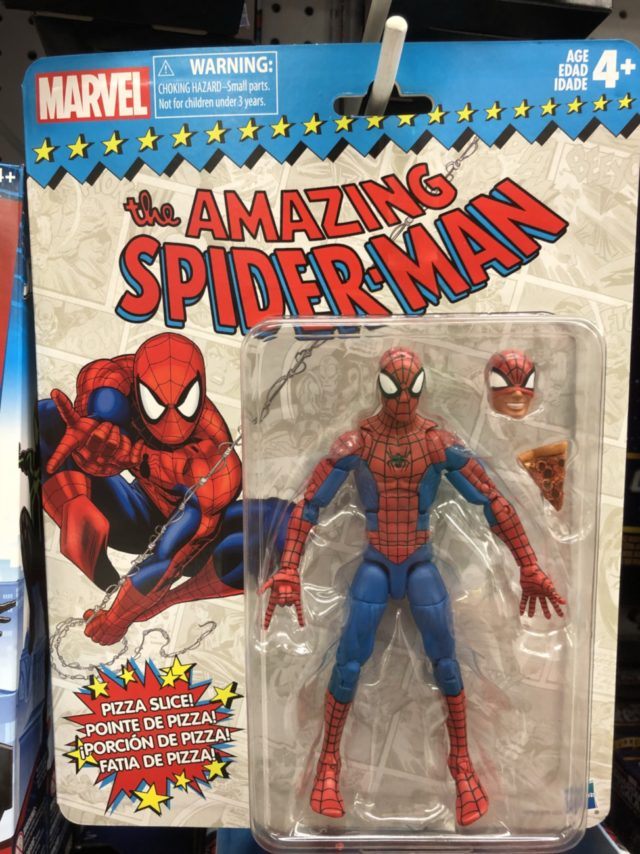Spider-Man Marvel Legends Vintage Series Figure Packaged