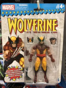 Marvel Legends Vintage Wolverine Figure Packaged