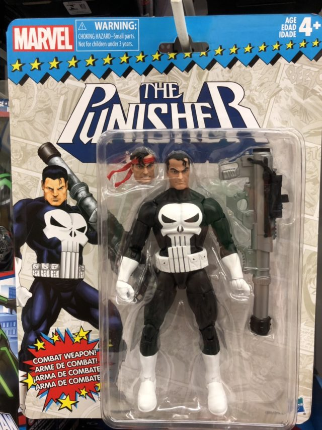 Vintage Punisher Marvel Legends Figure Packaged