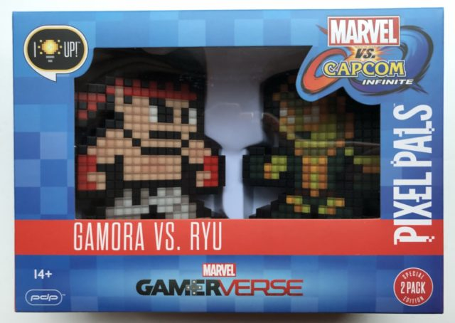 Marvel vs. Capcom Gamora vs. Ryu Pixel Pals Set Box