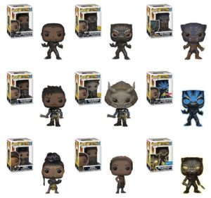 Funko Black Panther POP Vinyls
