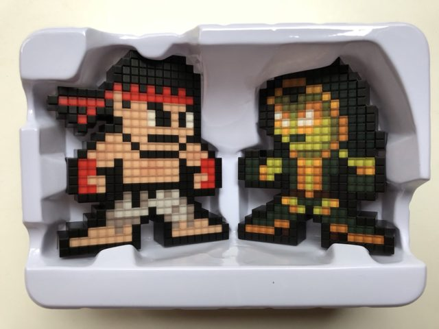 Marvel vs. Capcom Infinite Pixel Pals Ryu vs. Gamora