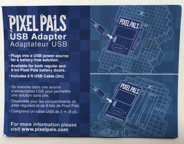 Pixel Pals USB Adapter Ad Pamphlet