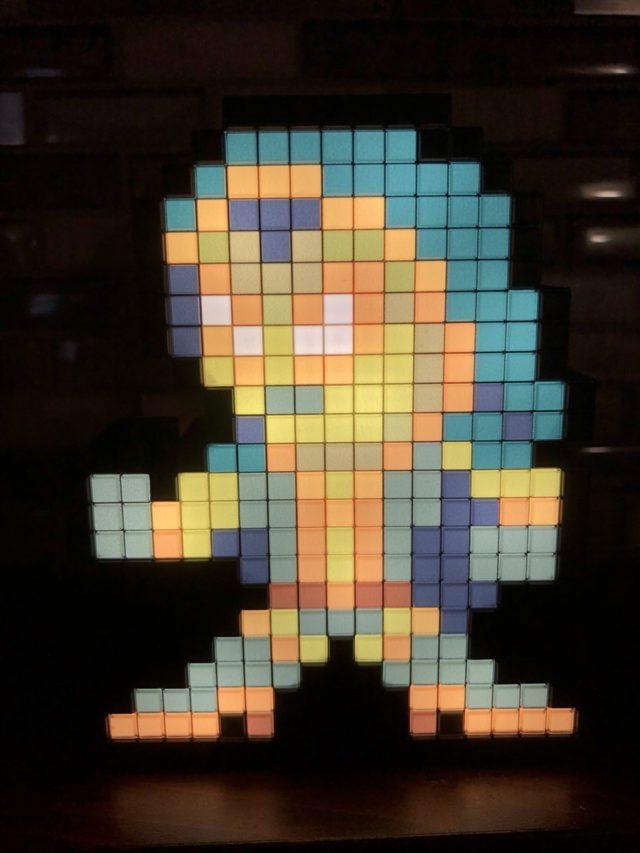 Gamora Pixel Pals Figure with Lights On