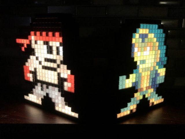 Review Pixel Pals Ryu versus Gamora Figures Marvel Capcom Gamerverse