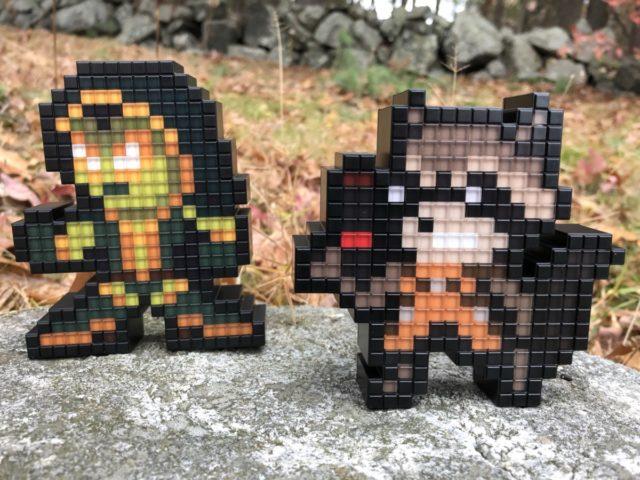 PDP Pixel Pals Guardians of the Galaxy Figures Gamora Rocket