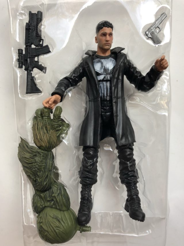 Marvel Knights Legends Punisher Figure and Accessories Man-Thing Arm