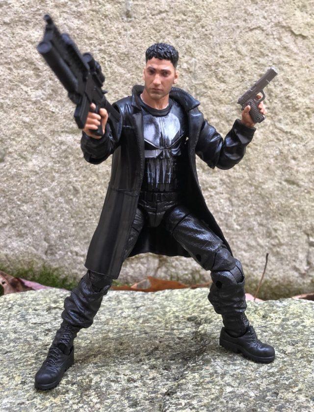 Netflix Marvel Legends Punisher Action Figure Guns