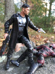 Marvel Legends Netflix Punisher Kills Daredevil