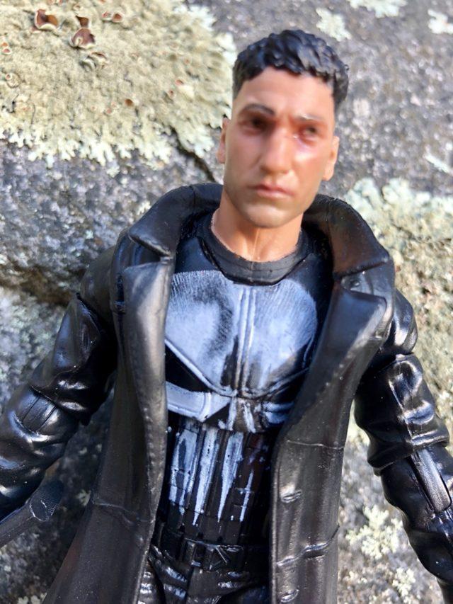 Glossy Paint on Hasbro Marvel Legends Punisher Netflix Action Figure
