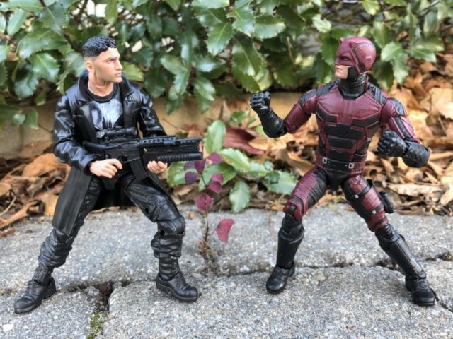 """Netflix Marvel Legends Punisher vs. Daredevil 6"""" Figures"""