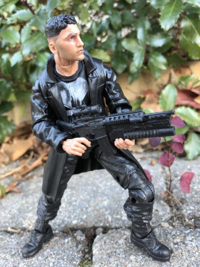 Marvel Legends Netflix Series Punisher Holding Rifle