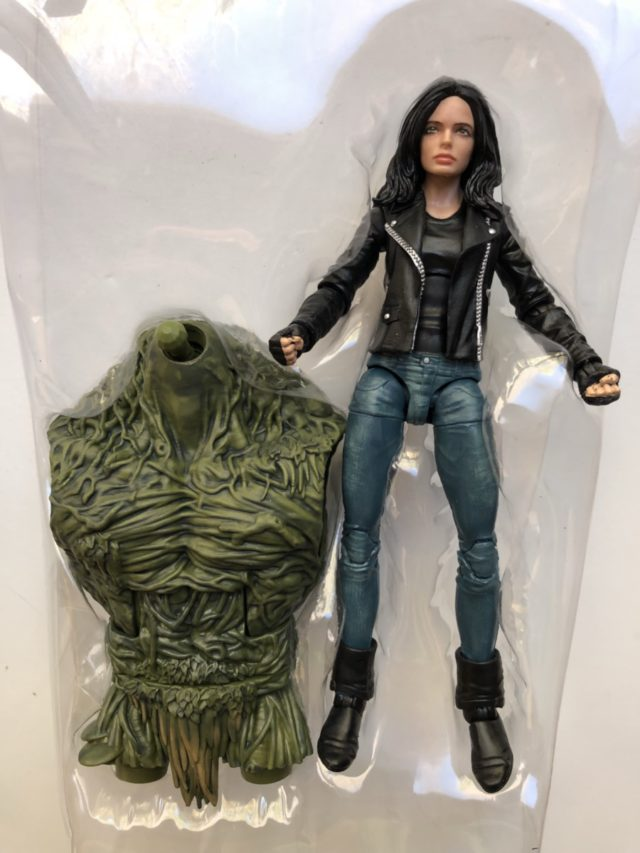 Marvel Legends Netflix Jessica Jones with Man-Thing BAF Torso