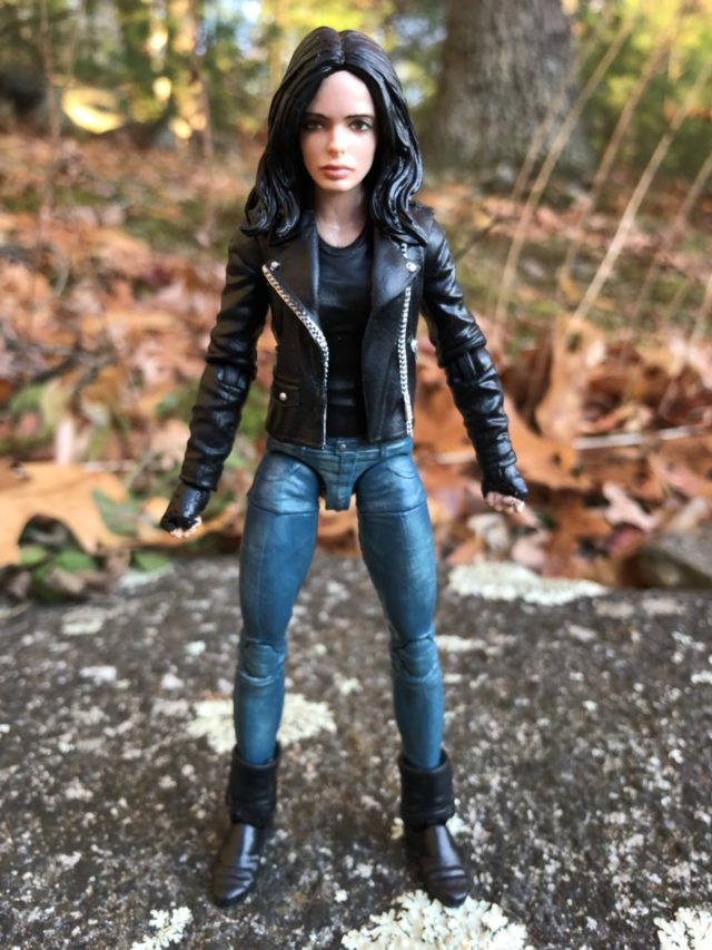 Review Marvel Legends Man-Thing Series Jessica Jones