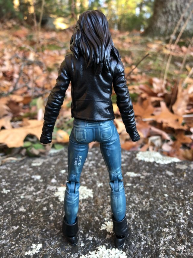 Back of Netflix Jessica Jones Marvel Legends Action Figure