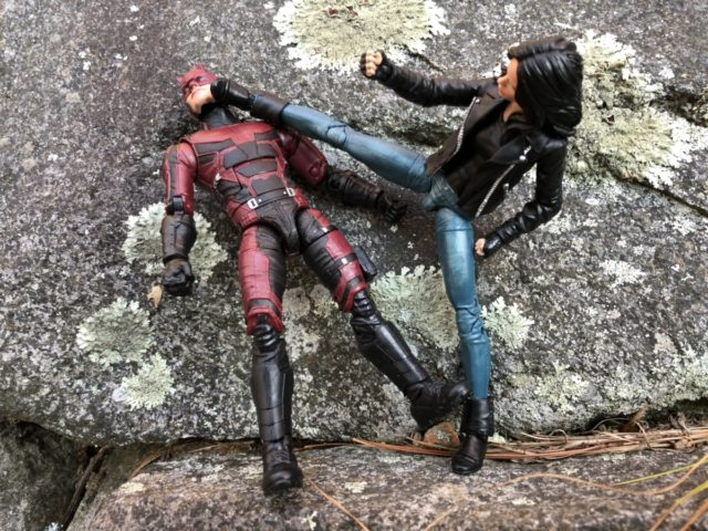 Netflix Legends Jessica Jones Articulation Karate Kicking Daredevil