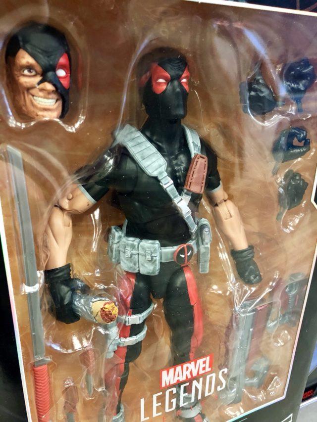 "Weapon X Deadpool 12"" Figure Close-Up"