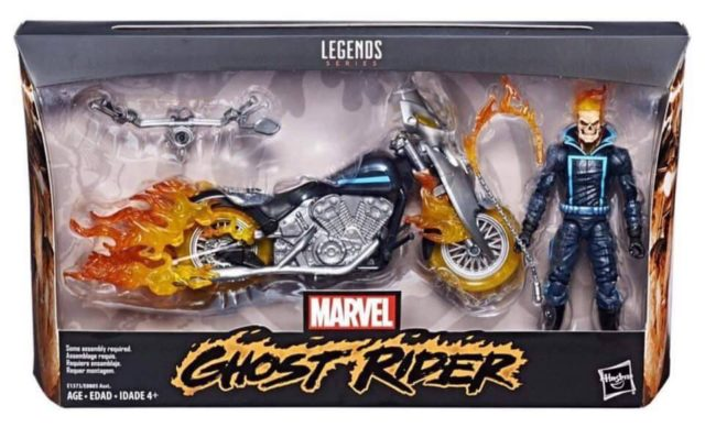 Marvel Legends Ghost Rider & Motorcycle Set Packaged