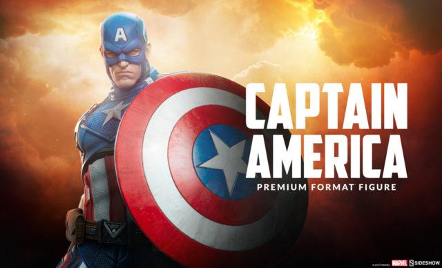 12 Days of Sideshow Captain America Premium Format Figure Reveal