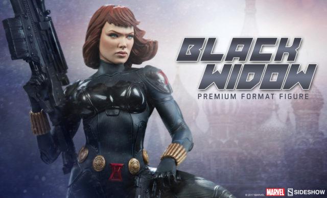 2018 Sideshow Black Widow Premium Format Figure