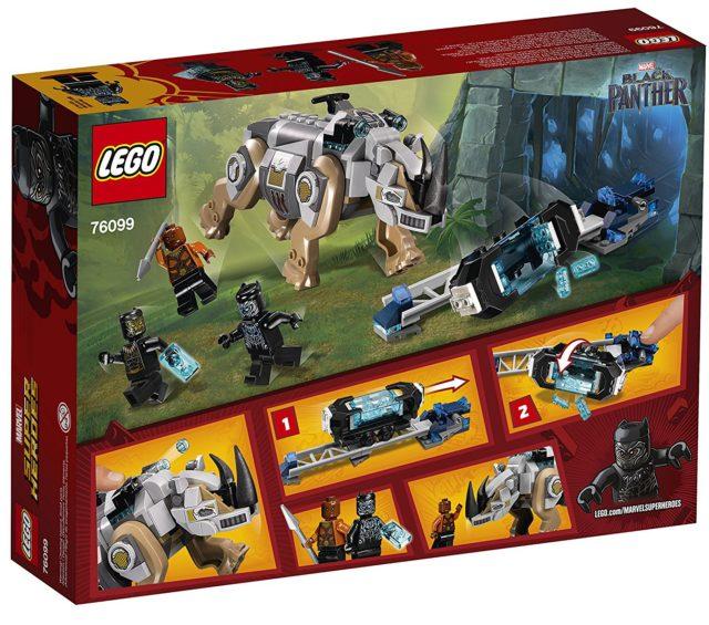 76099 LEGO Rhino Face-Off Black Panther Movie Set