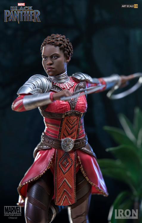 Black Panther Nakia Statue Iron Studios