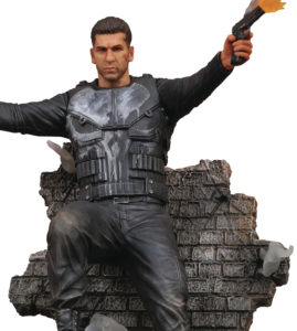 Close-Up of Marvel Gallery Season 1 Punisher Netflix Statue Figure