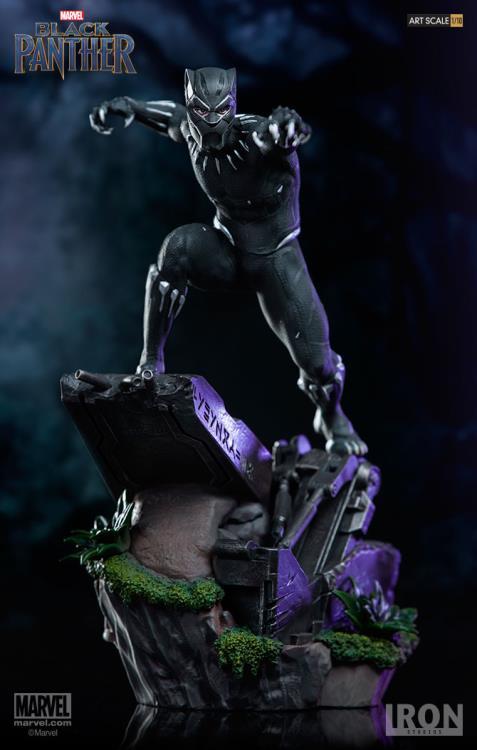 Iron Studios Black Panther Battle Diorama Series Statue
