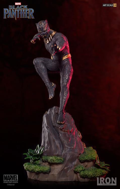 Killmonger Statue Iron Studios BDS