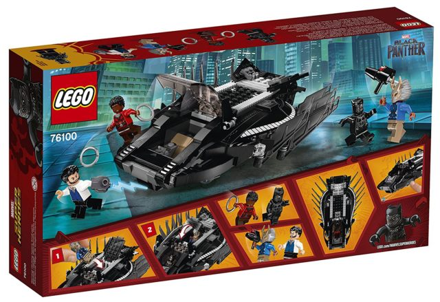 LEGO 76100 Royal Talon Fighter Attack Set Box Back