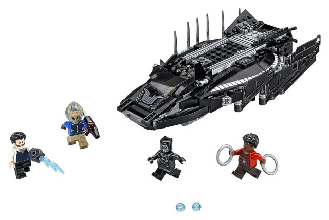 LEGO Black Panther Movie Sets Talon Fighter Attack and Minifigures
