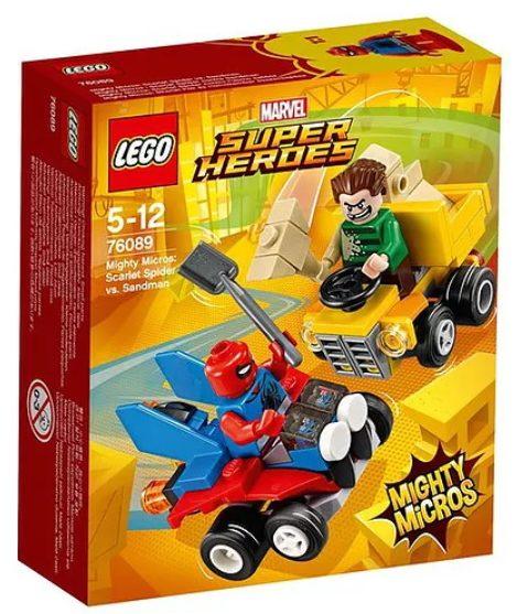 LEGO Mighty Micros Scarlet Spider vs. Sandman (76089)