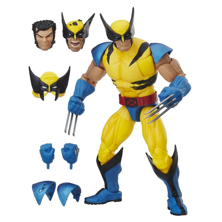Marvel Legends Wolverine 12 Inch Figure and Accessories
