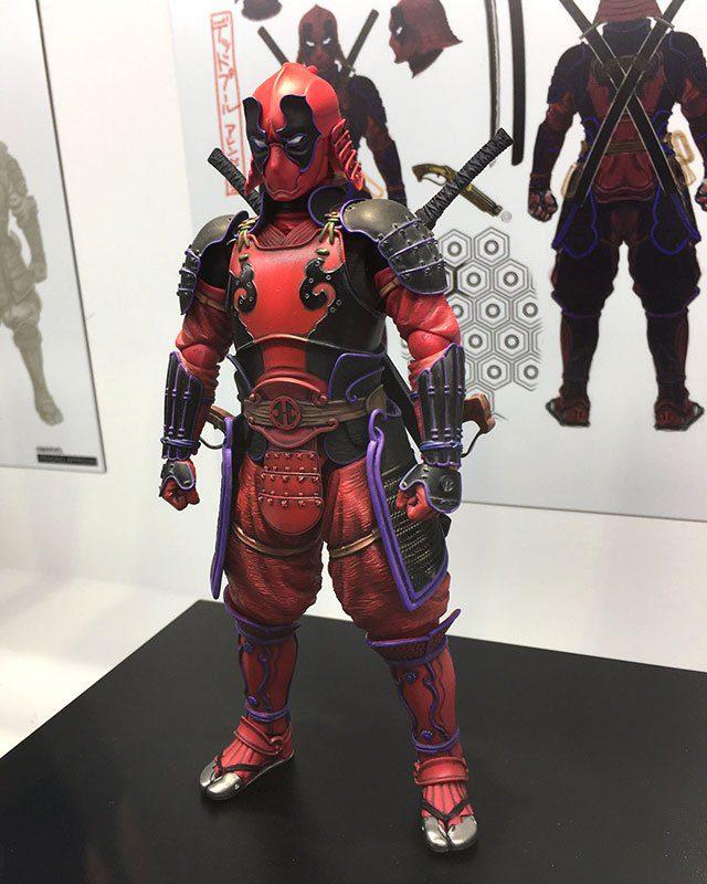 Marvel Manga Realization Deadpool Figure Tokyo Comic Con 2017