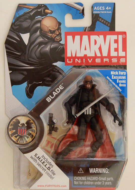 Marvel Universe Blade Figure Carded Packaged