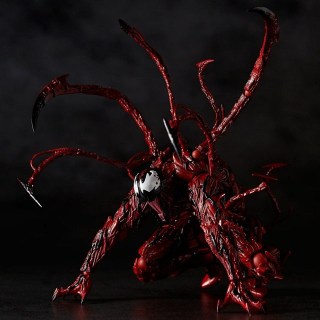 Revoltech Carnage 6 Inch Figure Crouched