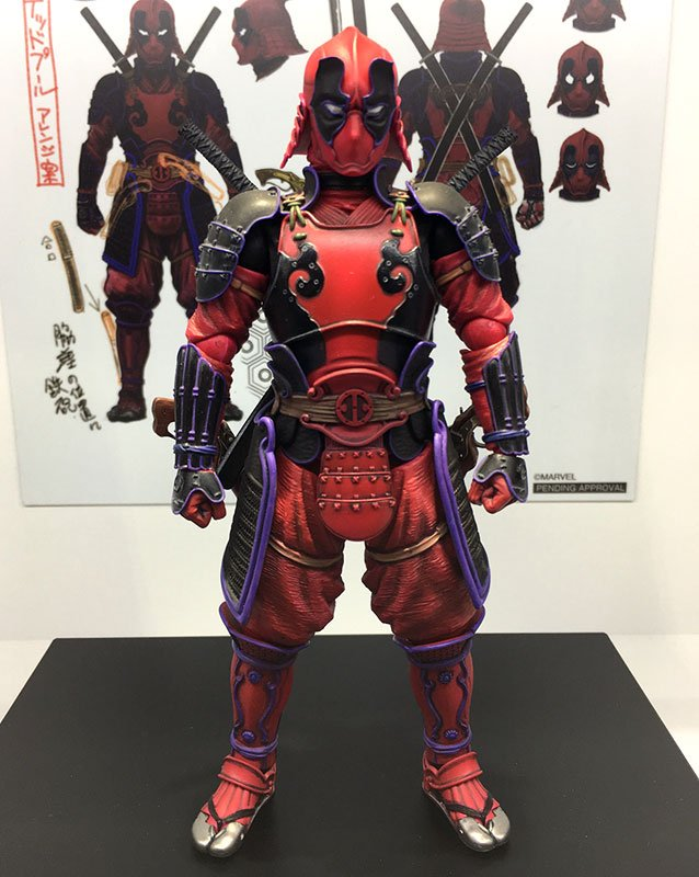 Samurai Deadpool Figure Manga Realization