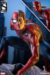Sidehow Mark Brooks Spider-Man Exclusive Head Peter Parker