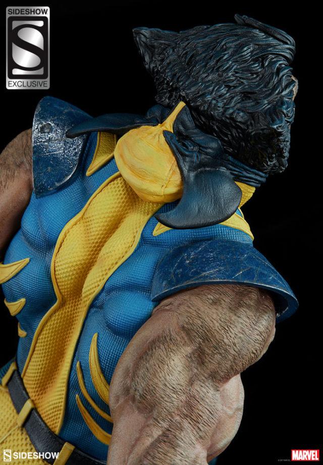 Sideshow Exclusive Unmasked Wolverine Head Premium Format Figure