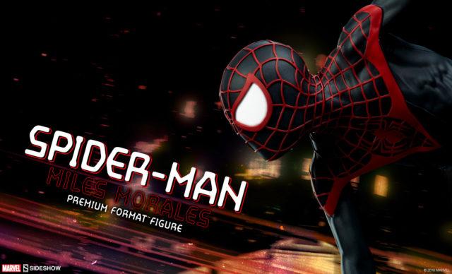 Sideshow Miles Morales Spider-Man Premium Format Figure 12 Days of Sideshow