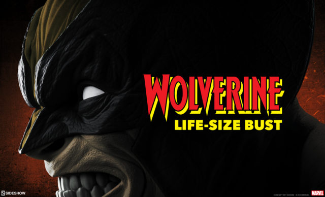 Sideshow Wolverine Life Size Bust 12 Days of Sideshow Teaser