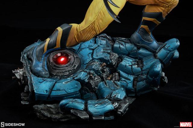 Sideshow Wolverine Premium Format Statue Sentinel Hand Base