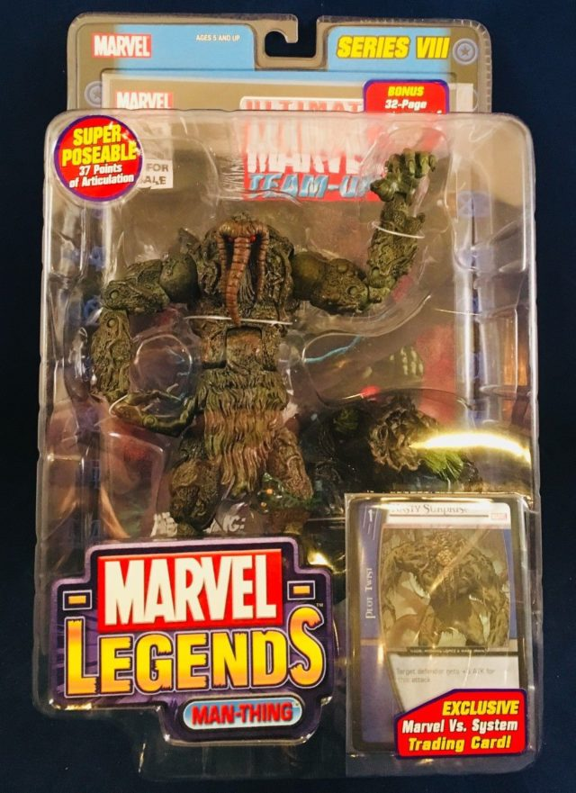 Toybiz Marvel Legends Man Thing Figure Packaged