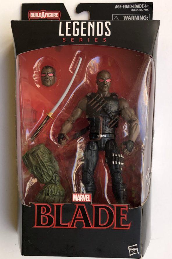 Netflix Marvel Legends Blade Figure Packaged