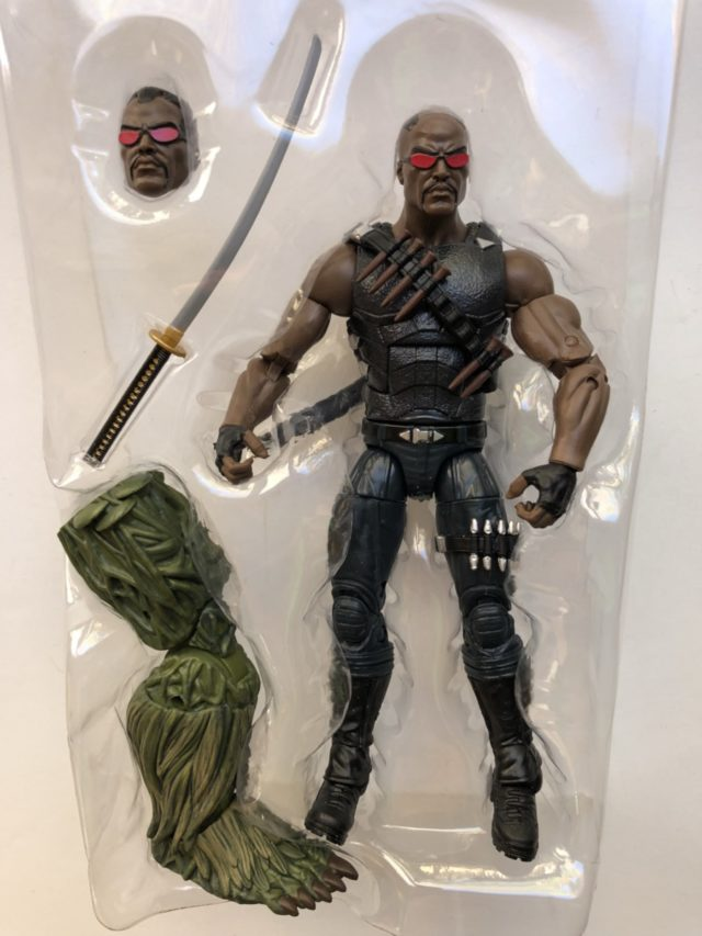 Marvel Legends Man-Thing Series Blade Figure and Accessories