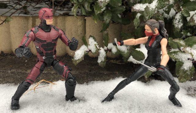 Marvel Knights Legends Daredevil vs. Elektra Figures