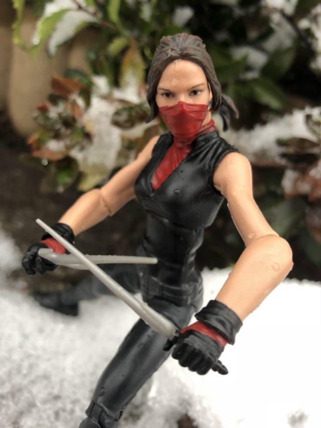 Arms on Netflix Marvel Legends Elektra Figure
